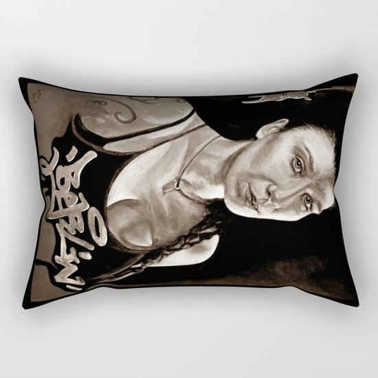 BERLIN - Kitty Kill - dark version Rectangular Pillow