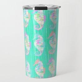 Seahorse - Pastel crystal (Spinel) Travel Mug
