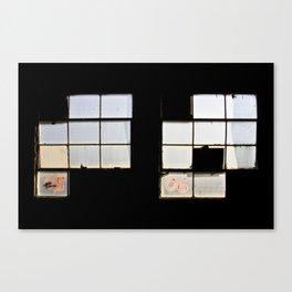 Industrial Windows Canvas Print