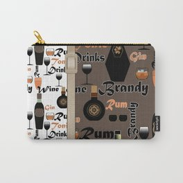 Drinks Brandy. Rum . Carry-All Pouch