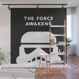 THE FORCE AWAKENS Wall Mural