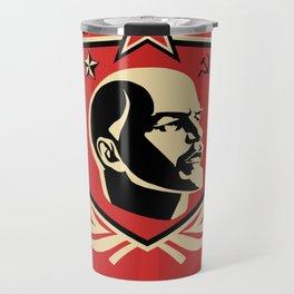 Emblem Lenin Face & CCCP Travel Mug