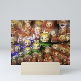 Matryoshka dolls Mini Art Print