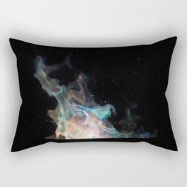 Blue Flames / Rectangular Pillow
