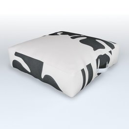 Monstera Line Outdoor Floor Cushion