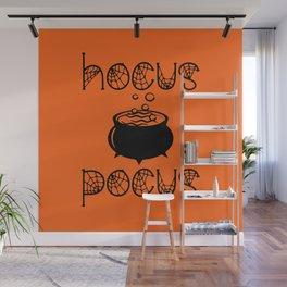 Hocus Pocus Orange Wall Mural