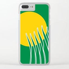 Spring Sun Clear iPhone Case