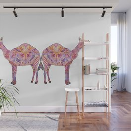 Henna Camel Wall Mural