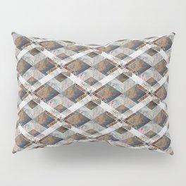 Geometric Collage Pillow Sham