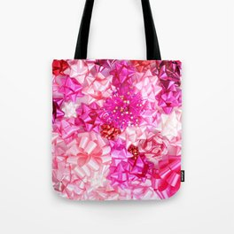 Put a pink bow on it! Tote Bag