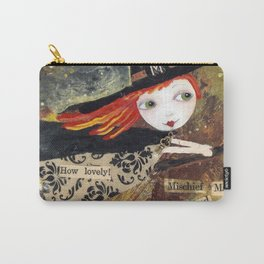 Mischief - Halloween Witch Carry-All Pouch