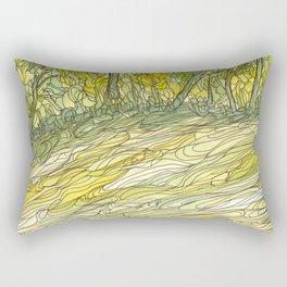 Eno River 34 Rectangular Pillow