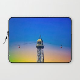 Port Cable Car in Barcelona Laptop Sleeve