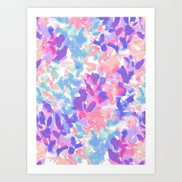 Intuition Pastel Art Print