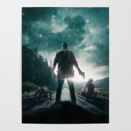 Road Zombies Poster