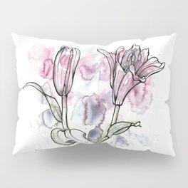 BW DAY LILY Color Splash 1 Pillow Sham