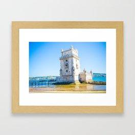Tower Of Belem Framed Art Print