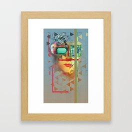 Warped Vision Framed Art Print