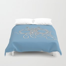 His Wiry Appendage Duvet Cover