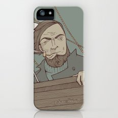 Ahab and the Whale iPhone (5, 5s) Slim Case