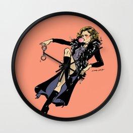 Joyce Summers Pin up Wall Clock