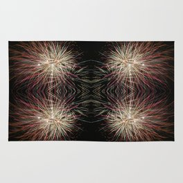 Neon Lights | Firework Frame Rug