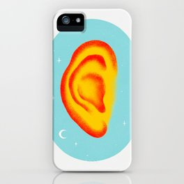 Listen and Learn iPhone Case