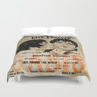 oasis Duvet Covers featuring Oasis by Colo Design