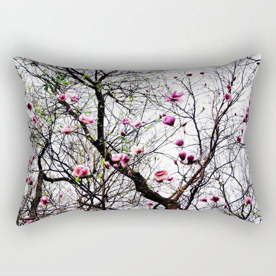 Magnolias Rectangular Pillow