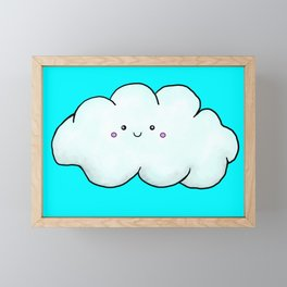 Sweet cloud Framed Mini Art Print
