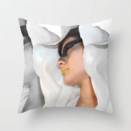 Cin-blanc Throw Pillow