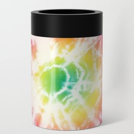 Tie-Dye Sunburst Rainbow Can Cooler