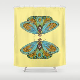 butterfly (ORIGINAL SOLD). Shower Curtain