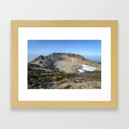 Hallasan Mountain Framed Art Print