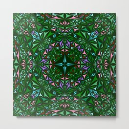 Kaleidoscope 4. Metal Print