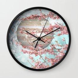 Spring Jupiter Wall Clock