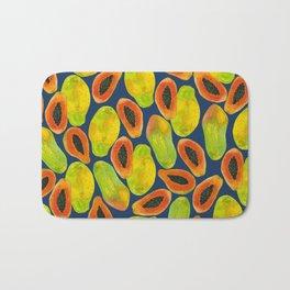 Plentiful Papaya Bath Mat