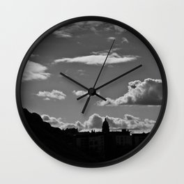 The Lonely Cloud Wall Clock