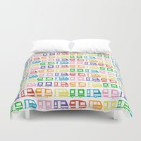 Camp Color Duvet Cover