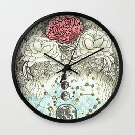 Transcend Your Mind Wall Clock