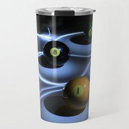 billiard balls Travel Mug
