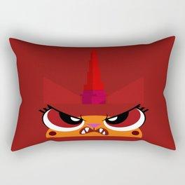 No Frowny Faces Rectangular Pillow