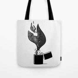 Fired up. Tote Bag