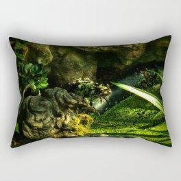 Cammo Frog Rectangular Pillow