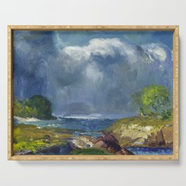 George Bellows - The Coming Storm, 1916 Serving Tray