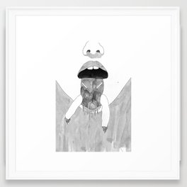 Whiteout/The state Framed Art Print