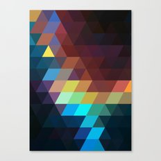 color story - spectrum Canvas Print