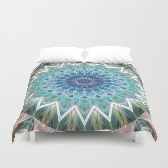 Mandala Turmalin  Duvet Cover