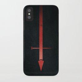 Sith lightsaber, starwars, dark side. iPhone Case