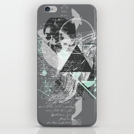 Contemplation  iPhone Skin